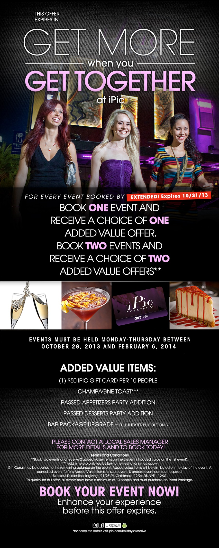 Holiday Sales iPic