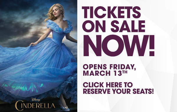 Cinderella at iPic Theaters