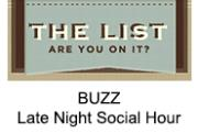 Late Night Social Hour - City Perch | The List