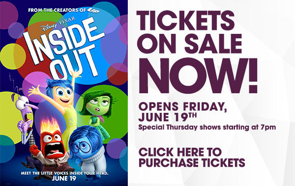 Inside Out at iPic Theaters