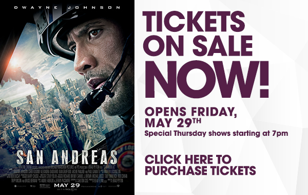 San Andreas at iPic Theaters
