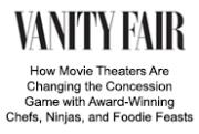 How Movie Theaters Are Changing the Concessions Game - Page 1 | Vanity Fair