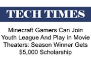 Minecraft Gamers Can Join Youth League, Play at Movie Theaters | Tech Times