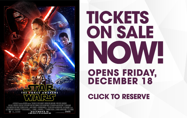 Star Wars The Force Awakens at iPic Theaters