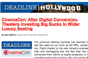 Deadline Hollywood | CinemaCon Report