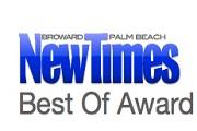 Palm Beach New Times| Best of Award
