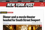 New York Post | iPic at South Street Seaport