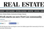 Real Estate Weekly | iPic at Fort Lee New Jersey