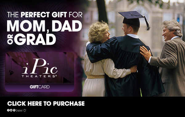 Give the Ultimate Movie Experience - iPic Gift Cards